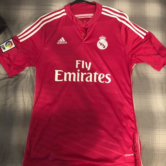 on sale 48633 44950 Authentic 2014-2015 Real Madrid Away Jersey